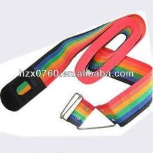 Mesh luggage strap ties for kraft paper bag