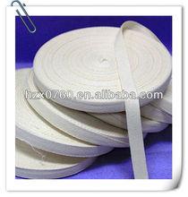 100% Cotton rainbow nylon ribbon for wedding dress 2012