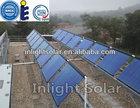 Copper Heat Pipe Solar Hot Water Collectors