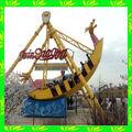 Bv, certificadaiso navio pirata para venda com luzes led themepark passeios usados