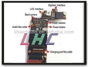 Original motherboard for iphone 4 unlocked logic board
