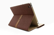 For Mini iPad Leather Case with Delicate Design