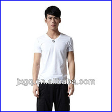 2013 factory direct price summer cool design blank men t shirt 100% organic cotton clothing