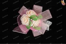 artificial corsage wristlet/flowers for wedding/corsage/decor wedding