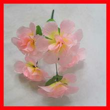 La cabeza 5 tamaño grande ceiba artificial de flores funeral/decorativa flores funeral