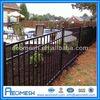 Ornemental Steel Fence Black Aluminium Fence Black