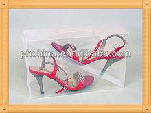 An-b675 modern design factory sell clear shoe box/shoe box for sale/wholesale shoe boxes