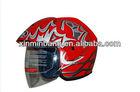 half face carbon fiber motorcycle helmet