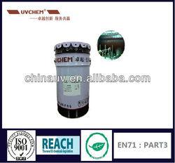 Japan market UV metalizing base coat for UV BMC base oil