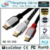 best sellling metal hdmi cable 1.4 for Set-Top Box,Computer,HDTV, Home Theater, DVD player...