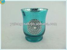 vintage aluminium candle jars