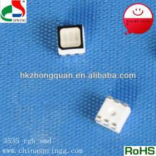 Green light source LED RGB SMD diode 3535 long lifespan