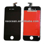 for Apple Iphone 4GS black LCD complete,accept paypal