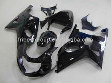 For Suzuki Gsxr 750 Body Kit GSXR 600 01-03 All Black Fairing Kit