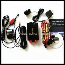 TK103A mini global security software accurate gps vehicle tracker