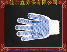 Usos de tergal y algodón con puntos de pvc