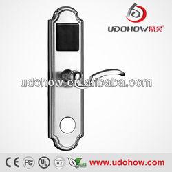 Intelligent networked electronic key door lock