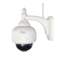 H.264/720P IR-cut ONVIF/built-in 8GB SD card/speed dome 3X Zoom home ip camera android phone,iphone,android IP camera