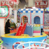 Wonderful New design kids pool with slide of indoor playground accessories
