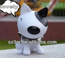 plastic dog for children;vinyl animal toys for kids