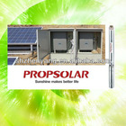 6inches solar irrigation water pump for agriculture with 60CBM/H 132M