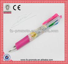 2013 hot selling jumbo ball pen promotional ballpen 4 color ball pen