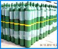 de alta presión del cilindro de gas tamaños