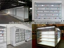 beverage showcase/Open type supermarket display freezer/upright display freezer