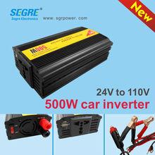 portable 500w usb 5V 1A dc ac power inverter body