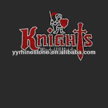 knights diamante transfers rhinestone trimming
