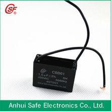 self healing cbb61 capacitor run motor fan 1.5UF
