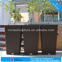 L-004 High quality garden furniture rattan flower pot