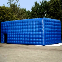 outdoor inflatable cube tent with any kind of size