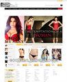 Web design e desenvolver, Lingerie loja online