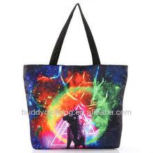 Ladies animal printed tote handbag/bag