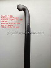 OEM 100% Carbon High Quality Field hockey Stick /Customized sticks