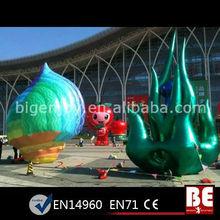 Giant Quality Inflatable Flower, Light Inflatable Flower Festival
