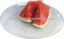 2013 prix usine de plastique de fuit plateau produits alimentaires grecs