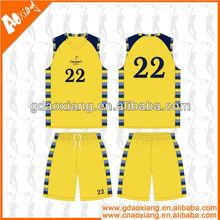 A-league quality Sublimation Latest Basketball training kits