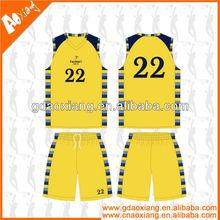 A-league quality Sublimation Latest Basketball training shirt