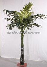 decorative twelve leaves palm tree artificial
