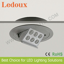 High Power 12W Adjustable CREE LED Downlight