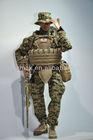 PVC USMC Sniper Realistic Action Figure