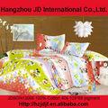 desenhos animados e floral cama set