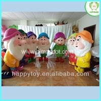 HI EN 71 seven dwarf mascot and costume for adult