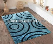 new design livingroom shaggy area carpet