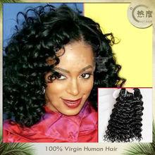 2013 selling!!!100% unprocessed kbl brazilian remy virgin hair