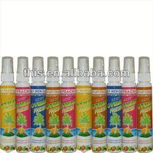 2013 OEM ISO9001 Long Lasting car air freshener spray perfume