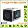 High Quality Style Digital Clock Pinhole Camera With Night Vision+ MP3+ MP4+ FM Radio RE-MVS01