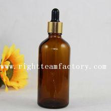 100ml medical amber glass spray bottle